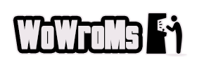 wowroms website logo